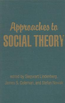 Approaches to Social Theory PDF