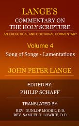 Lange's Commentary on the Holy Scripture, Volume 5