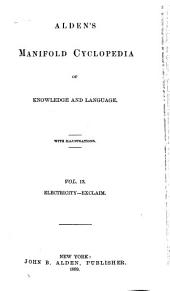 Alden's Manifold Cyclopedia of Knowledge and Language: Volume 13