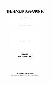 The Penguin Companion to English Literature PDF