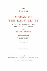 Blix Moran Of The Lady Letty Book PDF