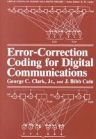 Error Correction Coding for Digital Communications PDF