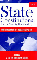 State Constitutions for the Twenty first Century  Volumes 1  2   3
