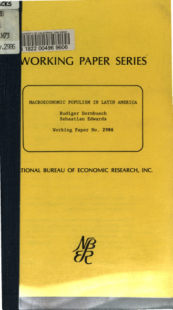 Macroeconomic Populism in Latin America PDF