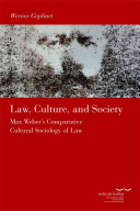 Law  Culture and Society PDF