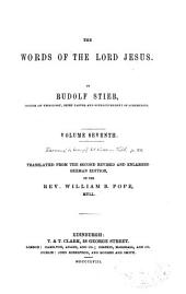 The Words of the Lord Jesus: Volume 7