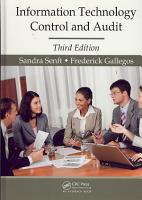Information Technology Control and Audit  Third Edition PDF