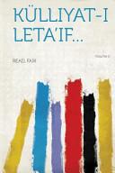 Külliyat-I Leta'if..