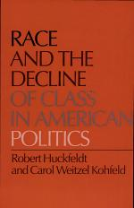 Race and the Decline of Class in American Politics