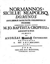 Normannos Siciliae Neapolisq. dominos