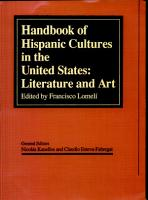 Handbook of Hispanic Culture Literature PDF