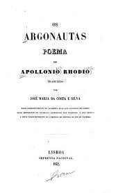 Os argonautas: poema de Apollonio Rhodio