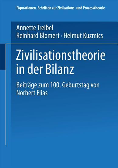 Zivilisationstheorie in der Bilanz PDF