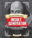 Shakespeare Insult Generator PDF