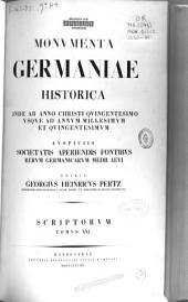Historici Germaniae saec.XII