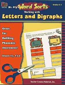 Working with Letters and Digraphs PDF
