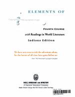 Holt Elements of Literature Indiana  Student Edition Eolit 2003 Grade 10 2003 PDF