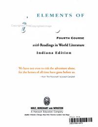 Elements of Literature  Grade 10 PDF