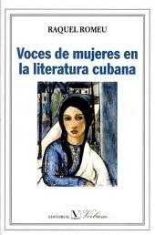 Voces de mujeres en la literatura cubana