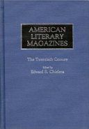 Download American Literary Magazines Book