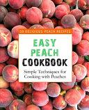 Easy Peach Cookbook