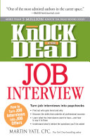 Knock  em Dead Job Interview PDF