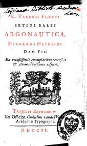 C. Valerii Flacci Argonautica