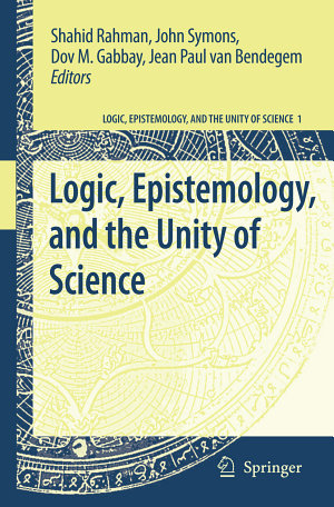 Logic  Epistemology  and the Unity of Science