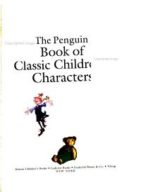 The Penguin Book of Classic Children s Characters