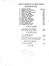 Las obras en verso de Don Francisco de Borja, Principe de Esquilache ...