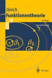 Funktionentheorie: Eine Einführung, Ausgabe 4