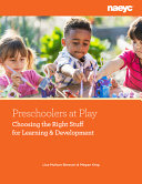 Preschoolers at Play PDF