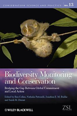 Biodiversity Monitoring and Conservation PDF