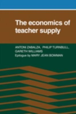 The Economics of Teacher Supply PDF