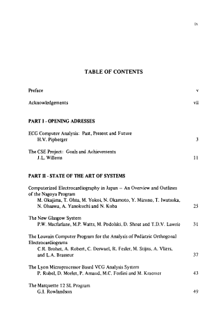 Computer ECG Analysis  towards Standardization PDF