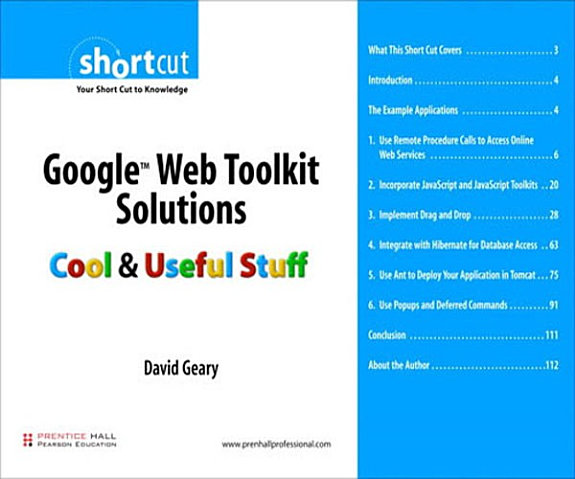 Google Web Toolkit Solutions Digital Short Cut