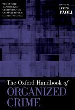 The Oxford Handbook of Organized Crime PDF