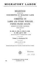 Migratory Labor PDF