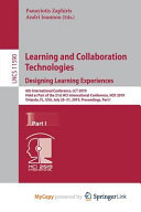 Learning and Collaboration Technologies PDF