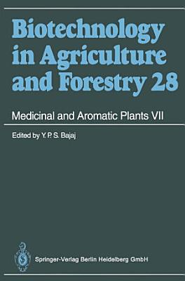 Medicinal and Aromatic Plants VII