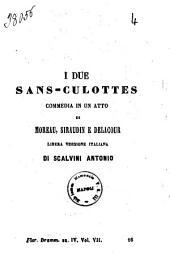 I due sans-culottes commedia in un atto di Moreau, Siraudin e Delacour