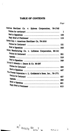 Patent  Trademark   Copyright Series
