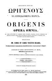 Patrologiae cursus completus. Series graeca: Volume 12, Issue 2