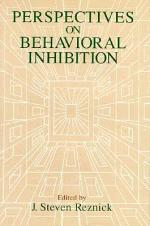 Perspectives on Behavioral Inhibition