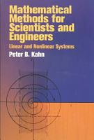 Mathematical Methods for Scientists and Engineers PDF