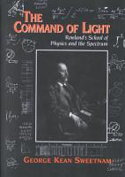 The Command of Light PDF