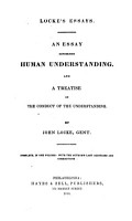Locke s essays  An essay concerning human understanding  And A treatise on the conduct of the understanding  With the author s last additions PDF
