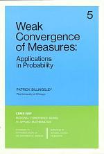 Weak Convergence of Measures