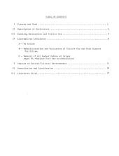 Grand Canyon Village, Proposed Development Concept: Environmental Impact Statement
