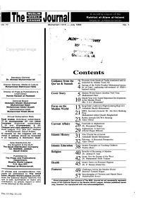 The Muslim World League Journal PDF